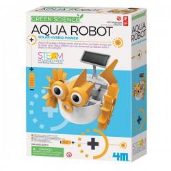 Aqua Robot Solar Hybrid Power