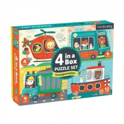 Puzzle 4 in a Box Transportes