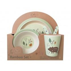 Vajilla Bambú Boar