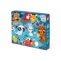 Puzzle Táctil Los Animales...