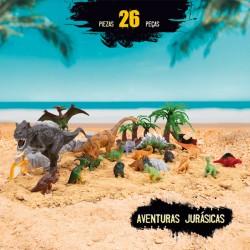 Bote de Dinosaurios 26 piezas